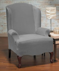 Update Your Furniture With This Luxurious Stretch Slipcover That Slides On  Easily, Lending A Fresh Look To Your Space In Seconds.
