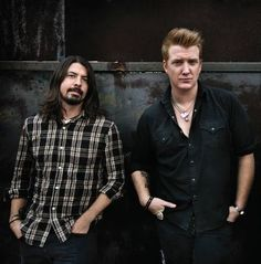 Dave Grohl & Josh Homme