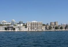 Dolmabahce Palace, the largest palace of the Ottoman Empire. Wonderful views of the sea and the Bosphorus near the sea are very nice. Sultan Abdulaziz during the french was made by the architect. is formed from numerous rooms.