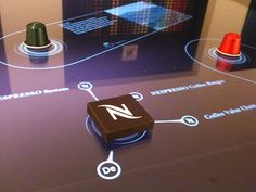 Tangible Interface for Nespresso on Behance