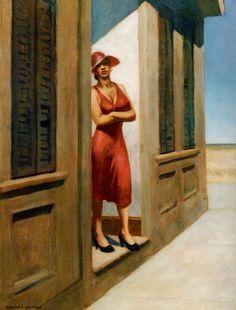 topcat77:  Edward Hopper South Carolina Morning , 1955