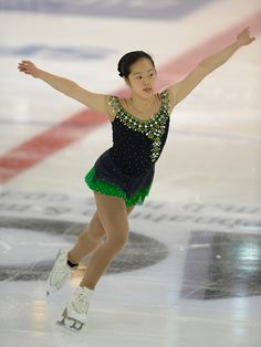 Ceciliane Mei Ling Hartmann  of Singapore skates during the junior ladies short program of the ISU Junior Grand Prix of figure skating on September 10, 2015 in Linz, Austria