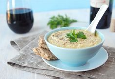Cauliflower- Roasted cauliflower soup