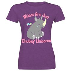 Chubby Unicorn by Goodie Two Sleeves