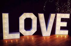 Our large light up love letters looking fabulous on the dance floor at Elmore Court. What a great way to dazzle your guests! Light Up Love Sign, Large Light Up Letters, Love Letters, Love And Light, Elmore Court, Wedding Hire, Love Signs, Anniversary Parties, Cartas De Amor