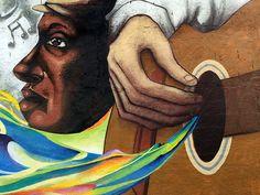 Grupo OPNI - novo mural para projeto Passport Casa dos Bambas