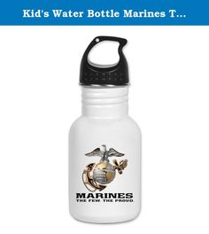 Kid's Water Bottle Marines The Few The Proud. Product Number: 0001-1482921397 Perfect for school lunches or soccer games, our kid's stainless steel water bottle quenches children's thirst for individuality. Personalized for what kids love, it's both eco-friendly and compact. Made of 18/8, food-grade stainless steel. * No lining & no BPA or other toxins * Wide mouth for easy drinking * Durable, BPA-free & phalate-free screw-on top * Holds 0.35L (nearly 12 ounces) * Thin profile to fit most...