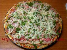 Πίτσα Γκουστόζα (gustosa) - από «Τα φαγητά της γιαγιάς» Vegetable Pizza, Quiche, Dinner, Vegetables, Breakfast, Food Ideas, Dining, Morning Coffee, Food Dinners