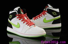 pretty nice ebeac 6da0e Air Jordan 1 Retro 93 White Electric Green Black Neutral Grey Gym Red  580514 150 Cheap