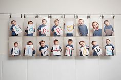 Foto - Geschenk - Idee-DIY- Für Opa-Für Oma-DIY Photo Idea -Grandparents -made by kids- von Kindern