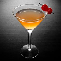 The Manhattan cocktail—now this is what the Manhattan Project should've been about.