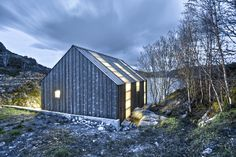 Meet the Naust paa Aure—a boathouse fit for the Norse gods (built with a modern touch).