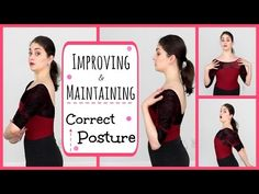 Improving & Maintaining Correct Posture   Kathryn Morgan - YouTube