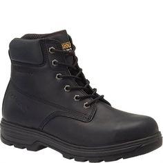 CA3517 Carolina Men's Oil Resistant Safety Boots - Black