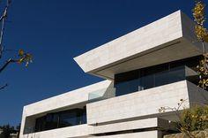 modern marble home acero architects 2 Loft Moderno de Mármol por A cero Arquitectos
