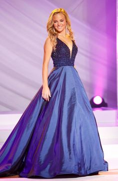 Miss Virginia Teen USA 2016 Evening Gown: HIT or MISS   http://thepageantplanet.com/miss-virginia-teen-usa-2016-evening-gown-hit-or-miss/