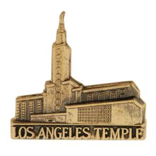 Los Angelos Temple Pin in Gold - $4.95  For more information about the Church of Jesus Christ of Latter Day Saints and how Families can be together forever, you can visit lds.org or mormon.org