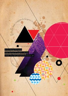 Geometric GraphicPoster
