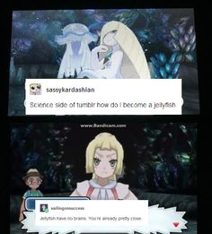 You have no brain - Funny Pokemon - Funny Pokemon meme - - You have no brain <<< Lusamines brain went to shit after she lost her mind anyway The post You have no brain appeared first on Gag Dad. Lusamine Pokemon, Pokemon Comics, Pokemon Funny, Pokemon Memes, Pokemon Stuff, Pokemon Pictures, Funny Pictures, Catch Em All, Fandoms