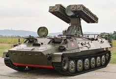 9K35 Strela 10 SA-13 Gopher Self-Propelled Air Defense System (Russia)