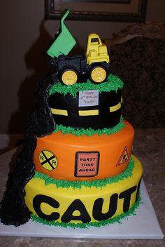 construction cake by Cakesbytrisha, via Flickr
