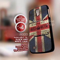 I Am Sherlocked design - iPhone 5/4/4s, Samsung Galaxy S3/S4 Hard case