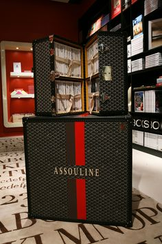 Assouline + Goyard at the Assouline Boutique at the Plaza Hotel, New York City