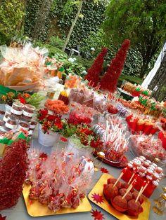 Mesa dulces navideña @ Carabu