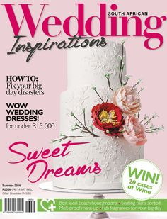Wedding Inspirations Summer 2016 cover