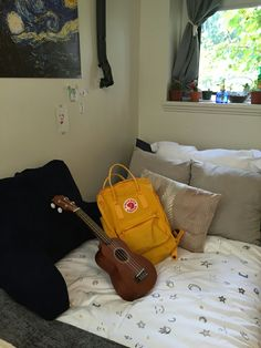 ☀chicagoqizza☀ i actually have the same ukulele Tumbler Photos, Studio Kitchen, Room Stuff, My Character, Kanken Backpack, Cozy House, Ukulele, Home Deco, Purses And Bags