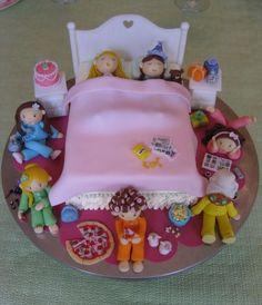pasteles decorados para pijamadas - Buscar con Google
