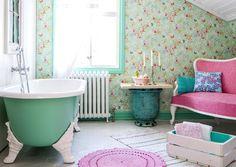 7 x romanttinen kylpyhuone