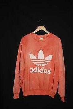 Vintage 90s Adidas Trefoil Tracksuit Top Color Block Dark