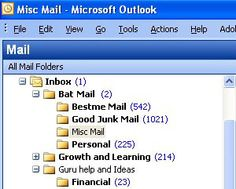Organize your email and digital files, plus make multiple backups, store some offsite