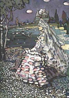 Wassily Kandinsky,Russian Beauty in a Landscape
