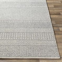 Joss & Main Pittsfield Handmade Tufted Wool Beige/Ivory/Charcoal Rug & Reviews | Wayfair Moroccan Area Rug, Solid Rugs, Grey And Beige, Gray, Home Rugs, Ivoire, Wool Area Rugs, Wool Rug, Grey Rugs