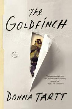 """""""The Goldfinch"""" by Donna Tarrt – """"So I am reading The Goldfinch and likely will be reading it all summer since it's almost 800 pages and I am a slowwwwww reader. It amazing, today's Great Expectations."""""""