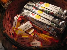 Christian Stickers for Halloween Candy