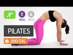 Aula de Pilates Online Completa para Interno de Coxas, Pernas e Abdômen - #6 - YouTube