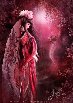Crimson Blossom by Shinobinaku.deviantart.com on @deviantART