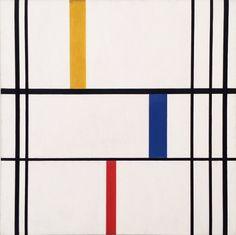 Burgoyne Diller, Untitled No. 21 (Second Theme), 1943-45
