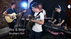Boy & Bear, one of The Aussie's biggest exports, recently hopped the day long flight for North America in the name of a slew of massive music festivals and intimate club dates. Somehow we also convinced them to play their smallest show of the tour during our inaugural Bands and Brews series.