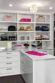 Custom Walk In Closet By South Shore Cabinetry, Vancouver Island, BC #closet