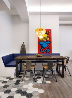 Check out this flooring design.....Flatiron Loft by MAD - Matiz Architecture & Design