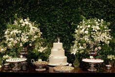 decoração de casamento branco verde e marrom - Pesquisa Google