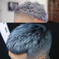 African American Hair Color Chart 67774 25 Best Collection Colors for Grey Hair - Hairstyle ideas Dyed Hair Men, Short Dyed Hair, Dyed Hair Ombre, Dyed Hair Blue, Dyed Hair Pastel, Mens Hair Colour, Hair Color, Medium Hair Styles, Short Hair Styles