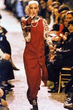 Jean Paul Gaultier Spring 1994 Ready-to-Wear Fashion Show - Ève Salvail