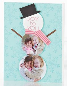 Quick & Easy Christmas Photo Cards