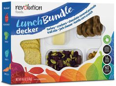 Lunch Bundles are a great on the go lunch or snack solution with no artificial flavors or preservatives, no high fructose corn syrup. -They are a great way to take a snack to work, to school, on a