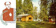 Runebergs jakt- och fiskestuga Finland, Nostalgia, Cabin, House Styles, Plants, Home Decor, Decoration Home, Room Decor, Cabins